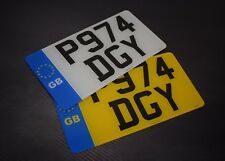 12x6 GB Pair American Import Road Legal Number Plates 100% MOT Compliant