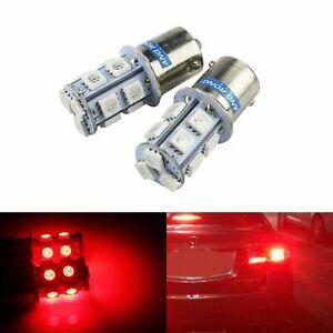 1 Paar Rot 382 1141 1156  BA15s Glühbirne Bremslicht Rücklicht Signallicht Lampe