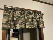 Jcp Home Cadet Madison Collection Rod Pocket Lined Valance 84 W 15 L Green