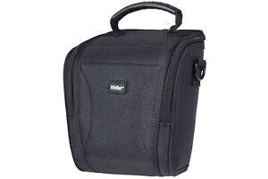 Vivitar Black Hard Shell DSLR Large Camera Case  - Black