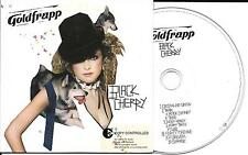 CD CARTONNE CARDSLEEVE COLLECTOR 10T GOLDFRAPP BLACK CHERRY 2003