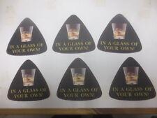 6 x  GLENFIDDICH Scotch Whisky  Australian Issue COASTERS