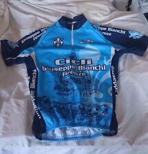 NWOT VINTAGE RARE Biemmi Bianchi Firenze Cicli David Cycling Jersey Make offer!