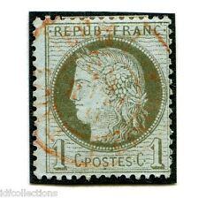 classique de France Cérès N° 50 avec joli cachet à date rouge