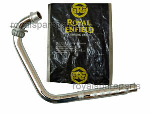Royal Enfield Classic 500cc BS3 Exhaust Bend Pipe Assembly #582662/D