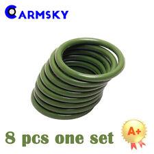 Rebuild Seals For 2003-2010 Ford 6.0L Oil Rail Ball Tube , Green O-rings Kit