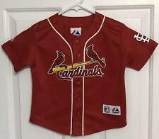 Majestic Boy's Mlb Cardinals #5 Albert Pujols Jersey Size 4