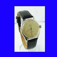 Vintage Mint Steel Omega SeaMaster Bumper Gents Wrist Watch 1954