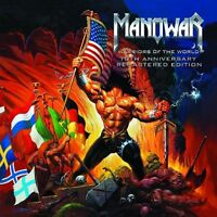 MANOWAR - Warriors of the World, 10th Anniversary, Remastered Edition CD NEU+OVP