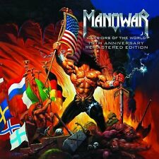 Manowar-warriors of the world, 10th Anniversary, remastered EDITION CD NEUF + OVP