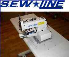Sewline Sl-373 Button Sewer All New Unit Top Quality Industrial Sewing Machine