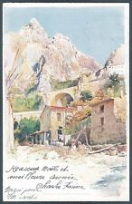 FRANCIA FRANCE MENTONE 02 MENTON - LESSIEUX - Cartolina 1900 CPA
