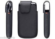 Original Blackberry Torch 9860 Negro De Cuero Bolsillo bolsa caso acc-38962-201