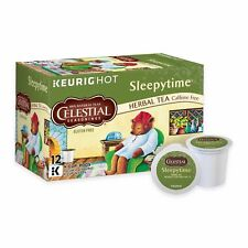 Celestial Seasonings Sleepytime Herbal Tea 12 to 144 Keurig K cups Pick Quantity