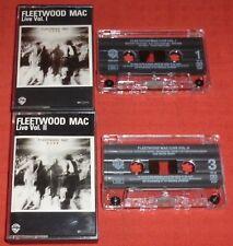 FLEETWOOD MAC - UK CASSETTE TAPE X 2 - LIVE