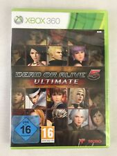 Xbox 360 Dead or Alive 5 Ultimate, German Version, Brand New & Factory Sealed