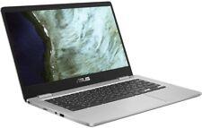 """Asus C423NA Chromebook 14"""" HD Laptop, Intel Celeron N3350 4GB DDR4 RAM, 64GB SSD"""