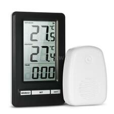 Digital Wireless Thermometer Indoor and Outdoor Temperature Measurement W9H4