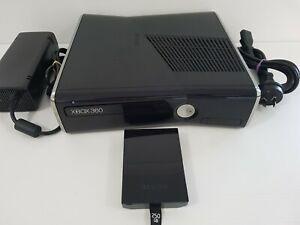 Xbox 360 Slim 250GB Console + Power Adapter