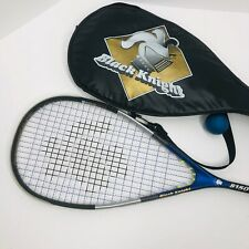 Black Knight 8150 C4 Squash Racquet (WITH Case and ball)