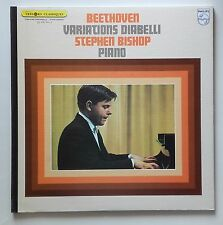 LP Beethoven - Variations Diabelli - Stephen Bishop Piano Frence Philips Nm
