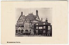 STONEBRIDGE HOTEL - Hampton In Arden - Birmingham Pub -1912 used postcard
