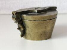 Très ancienne pile de poids à godets fin XVIIIème début XIXème, 8 onces, 250 g