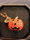 New 2011 Limited Edition Juicy Couture Pave Pumpkin Charm