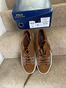 Ralph Lauren Cantor Low Mens Sneakers IK Size 9/EU 43 NEW