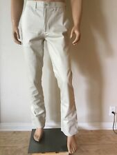 NWT Mens Cheap Monday Chino Beige Trousers Pants Size 33/34