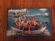 Playmobil 5131 Fishing Boat New in Box!