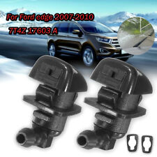 Pair Car Windshield Washer Spray Nozzle Jet 7T4Z 17603 A For Ford Edge 2007-2010