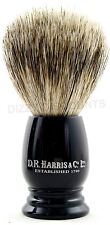 DR Harris 8.5 cm PURO badger A PENNELLO DA BARBA S1 TRAVEL SIZE PENNELLO DA BARBA | Ebony