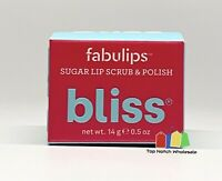 Bliss Fabulips Sugar Lip Scrub & Polish 0.5 oz