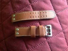 ORIGINAL HAMILTON Khaki X-Wind TAN Leather 22mm Strap Band for Watch HH600776103