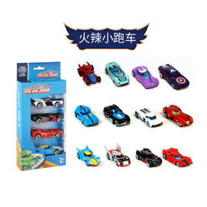 Model Steamer 4 Boxed League of Legends Toy Children's Alloy Scooter Mini Racing