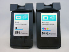 2PK PG245 XL & CL246XL Ink Cartridge for Canon Pixma MG2924 MG2922 MG2420 MX492