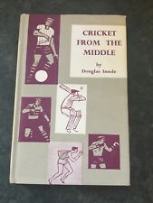 Cricket From The Middle By Douglas Insole 1961 Mint Condition With DJ