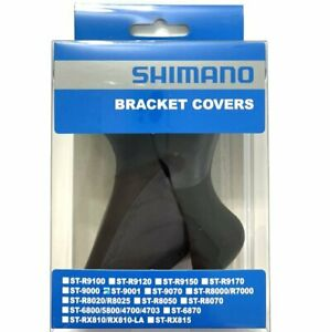 Shimano Original DURA ACE ST-9001 Hood Bracket Cover, Black, AM5