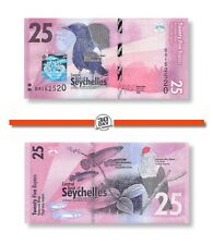 Seychelles 25 Rupees 2016 Unc Pn 48a Birds Series