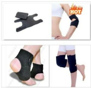 6 pcs set Magnetic Therapy Self-Heating Tourmaline Elbow-Knee-Ankle Support Pads