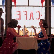 Jack Vettriano - Café Tagen - Kunstdruck - 80x60cm
