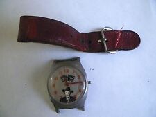 VINTAGE HOPALONG CASSIDY WRISTWATCH~COWBOY~US TIME~NR