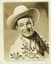 1951 ROY ROGERS - STAR OF SATURDAY NIGHT ROUNDUP - PROMOTIONAL PICTURE