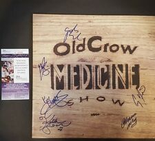 OLD CROW MEDICINE SHOW Signed Carry Me Back vinyl lp autograph JSA COA