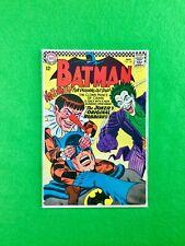 Batman #186 (1966):  1st Appearance Gaggy (Joker's Sidekick)! Joker! VG/FN (5.0)