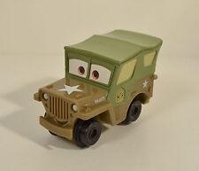 "2008 Geotrax Geo Trax Sarge Military Jeep 4"" Fisher-Price Mattel Disney Cars"