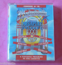 Commodore 64 C64 - Mastertronic MEGAPLAY VOLUME 1 Games x6 1988 *NEW!