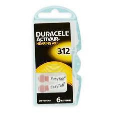 Duracell ActivAir Typ 312 braun Hörgerätebatterien Hörgerät Batterie Knopfzelle