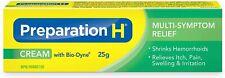 Crema preparation H [bio-Dina hemorroides Multi-Síntoma el alivio del dolor 25g] NUEVO